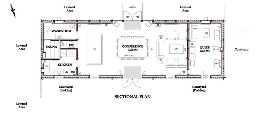 About Us Room Plan
